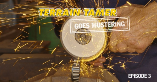 Terrain Tamer mobilizuojasi | 3 epizodas