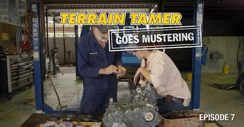 Terrain Tamer mobilizuojasi | 7 epizodas