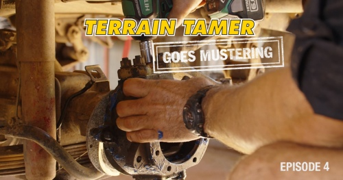 Terrain Tamer mobilizuojasi | 4 epizodas